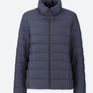 Light down jacket (navy)